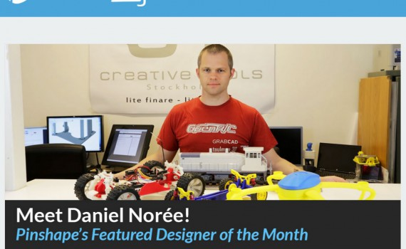 designer of the month pinshape