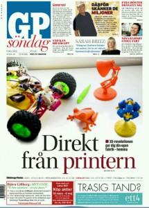 """Interview in """"Göteborgsposten"""""""
