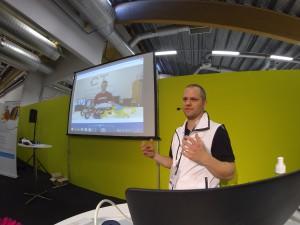 Presenting OpenR/C at Elmia Subcontractor 2015