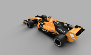 OpenRC F1 dual color Mclaren render